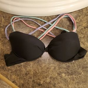 Black push up bikini top!